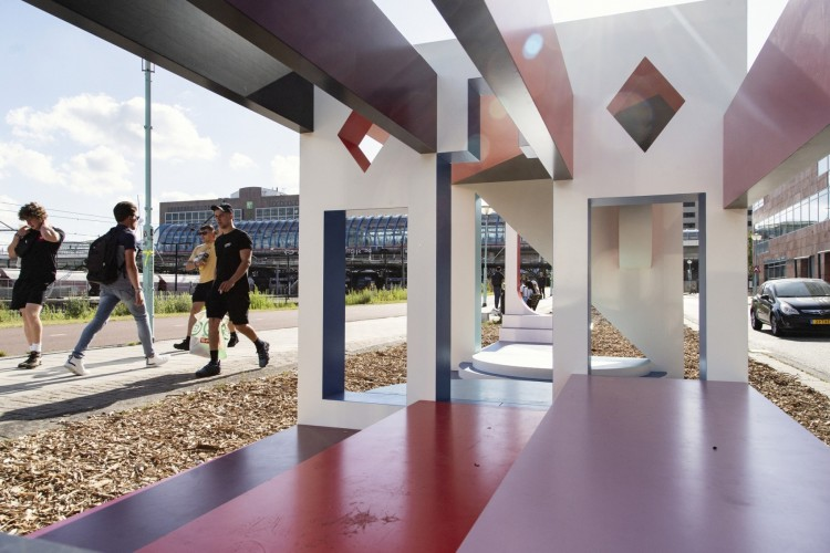Sloterdijk is reinventing itself as a lively, mixed urban area